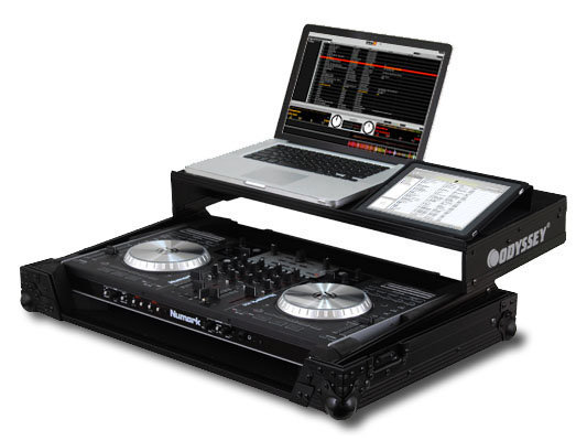 View larger image of Odyssey FZGSNS6BL Numark NS6 DJ Controller Case