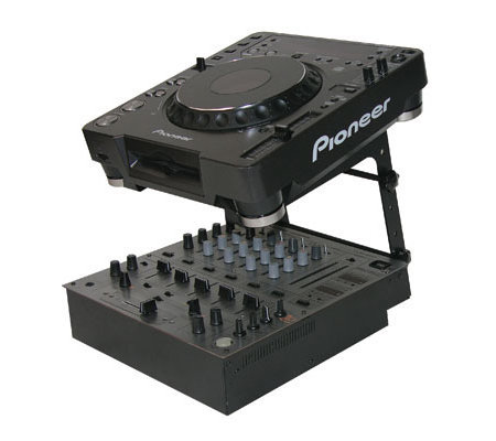 View larger image of Odyssey LSTANDS Adjustable Stand-Alone Tabletop Laptop Pro DJ Stand - Black