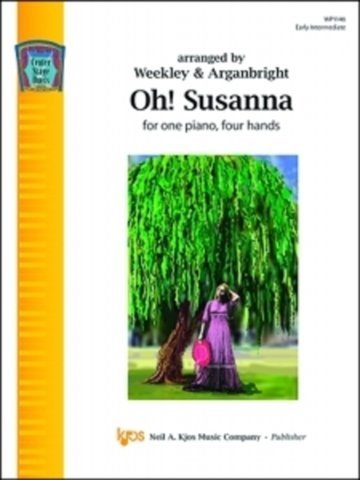 View larger image of Oh Susanna - Piano Duet (1P4H)
