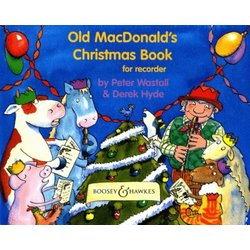 Old MacDonalds Christmas Book for Recorder
