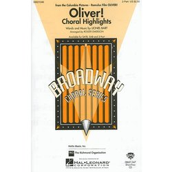 Oliver Choral Highlights - Showtrax CD