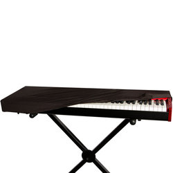 On-Stage 88-Key Keyboard Dust Cover - Black