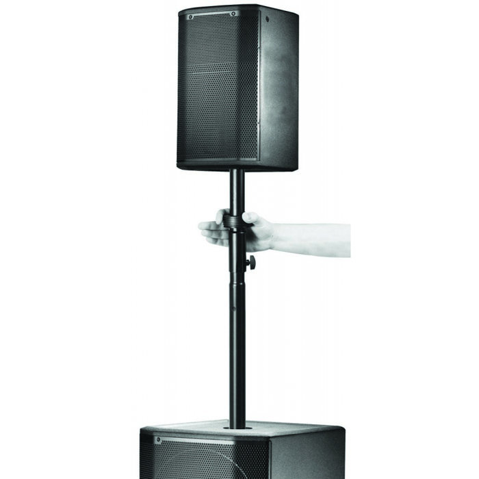 View larger image of On-Stage Adjustable Subwoofer Attachment Pole with Locking Adapter
