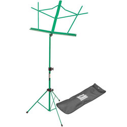 On-Stage Compact Sheet Music Stand - Green