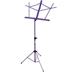 On-Stage Compact Sheet Music Stand - Purple