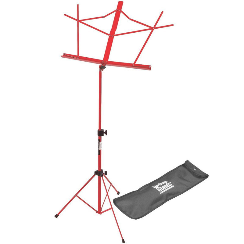 View larger image of On-Stage Compact Sheet Music Stand - Red