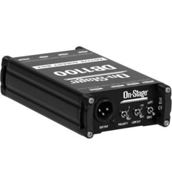 On-Stage DB1100 Acive Direct Box with Stereo-to-Mono