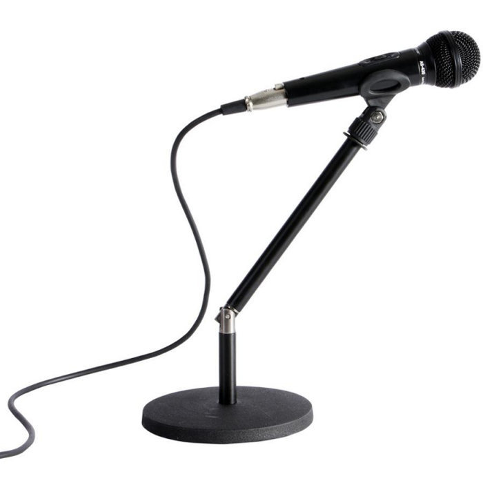 View larger image of On-Stage Desktop Rocker Lug Microphone Stand - 12