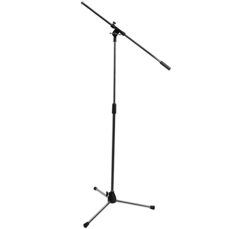 View larger image of On-Stage Euro Boom Microphone Stand - Chrome
