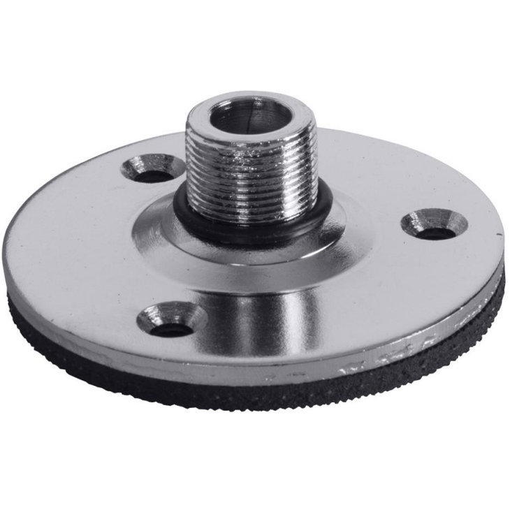 View larger image of On-Stage Flange Mount with Pad - Chrome