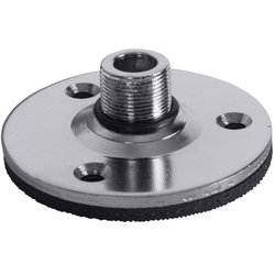 On-Stage Flange Mount with Pad - Chrome