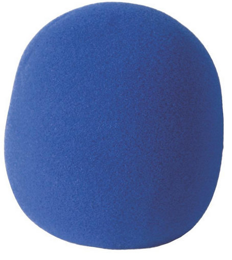 View larger image of On-Stage Foam Windscreen - Blue