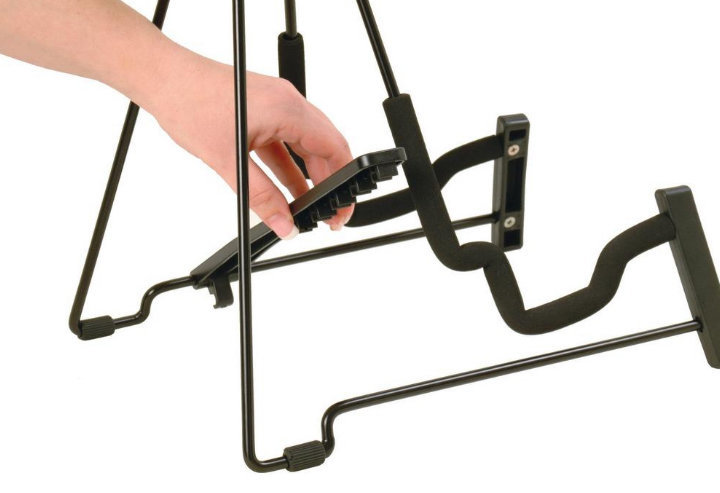 View larger image of On-Stage Fold-Flat Guitar Stand
