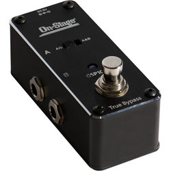 On-Stage GSP1000 ABY Switcher Pedal