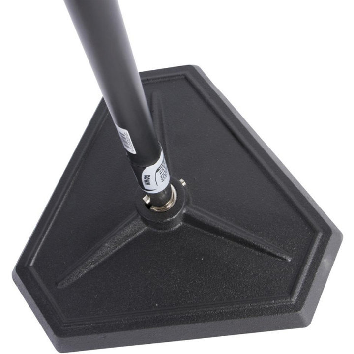 View larger image of On-Stage Hex-Base Quarter-Turn Threadless Microphone Stand - Black