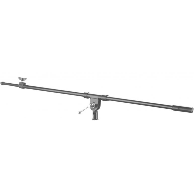 View larger image of On-Stage MSA7020TB Microphone Stand Telescoping Boom Arm