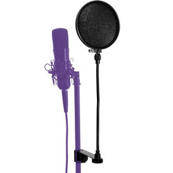 On-Stage Pop Filter with Repacement Liners