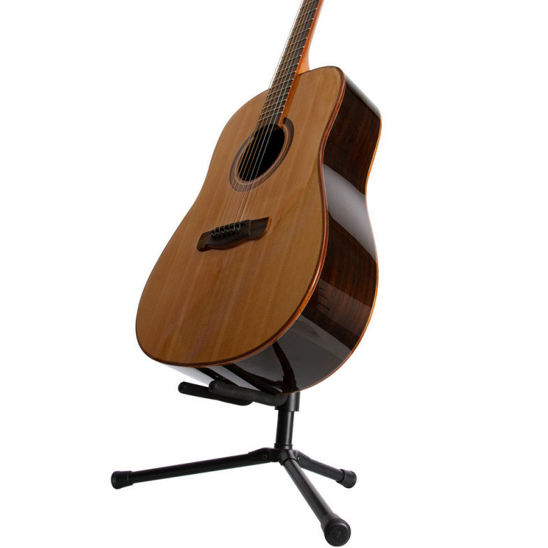 View larger image of On-Stage Push-Down/Spring-Up Locking Acoustic Guitar Stand