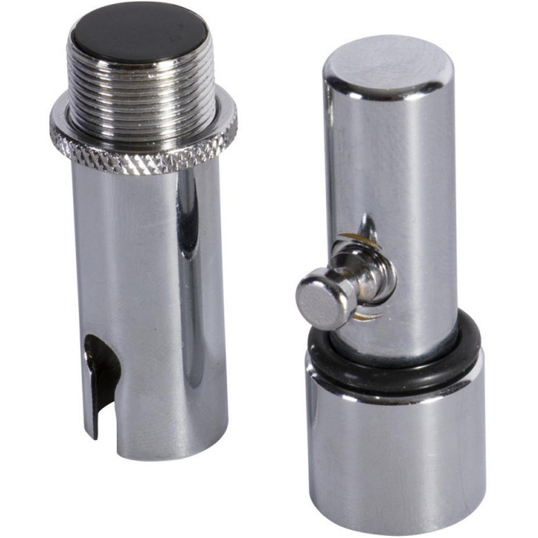 View larger image of On-Stage Quick-Release Microphone Adapter - Chrome