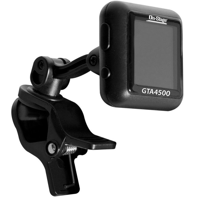 View larger image of On-Stage Rechargeable Clip-On Tuner