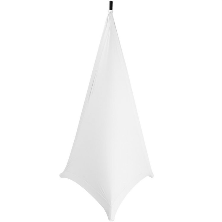 View larger image of On-Stage Speaker/Lighting Stand Skirt - White