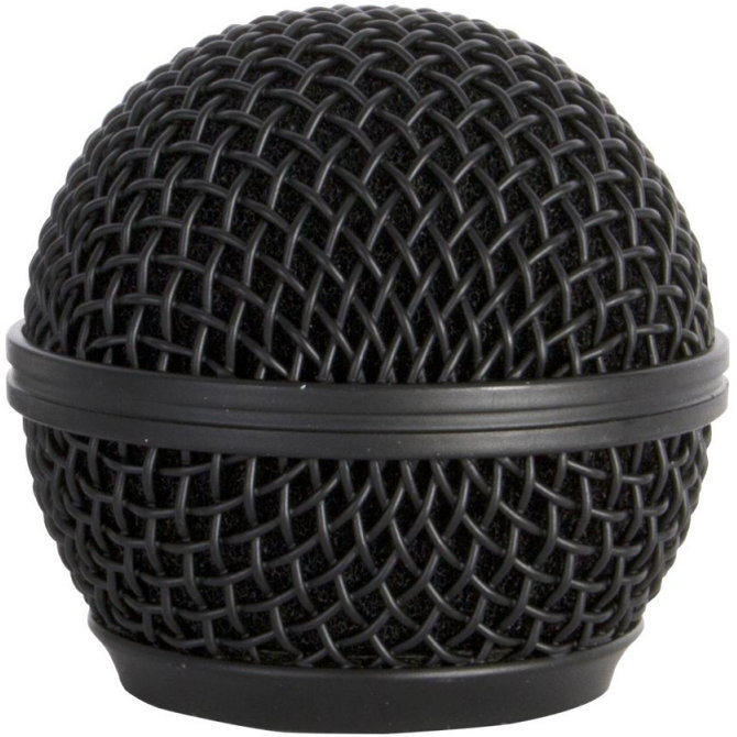 View larger image of On-Stage Steel Mesh Microphone Grille - Black