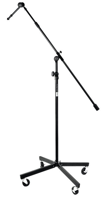 View larger image of On-Stage Studio Boom with 7 Mini Boom Extension and Casters