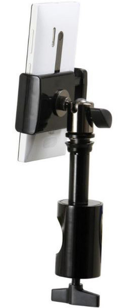 View larger image of On-Stage TCM1901 U-Mount Universal Grip-On Device Holder
