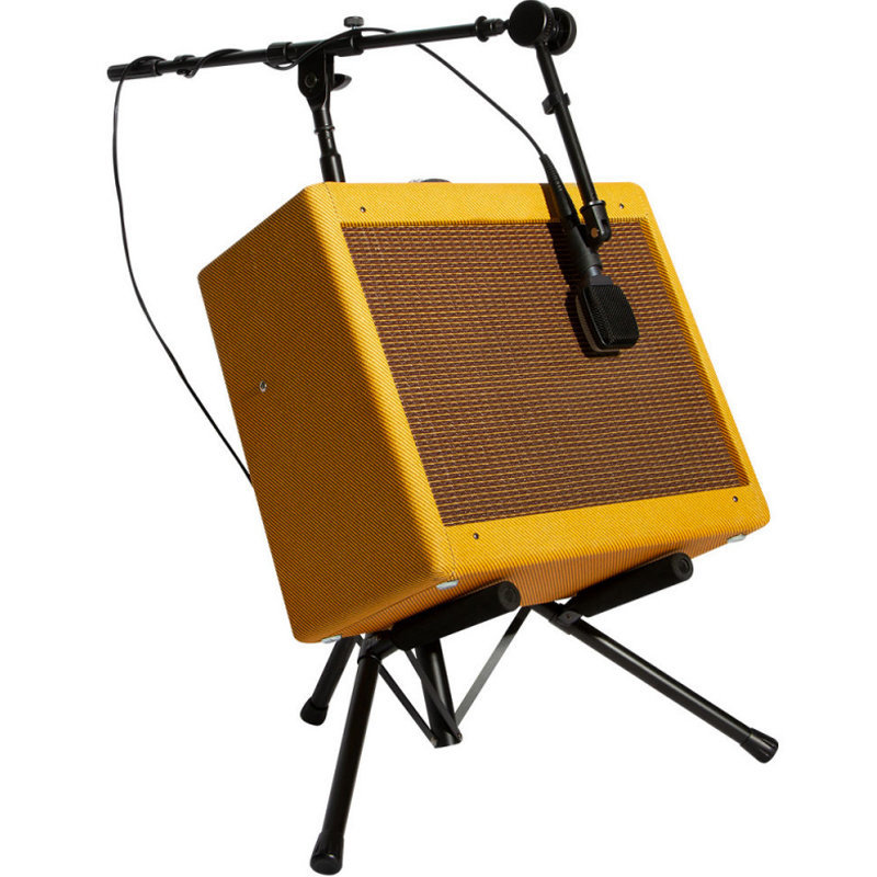 View larger image of On-Stage Tiltback Amp Stand with Boom Arm