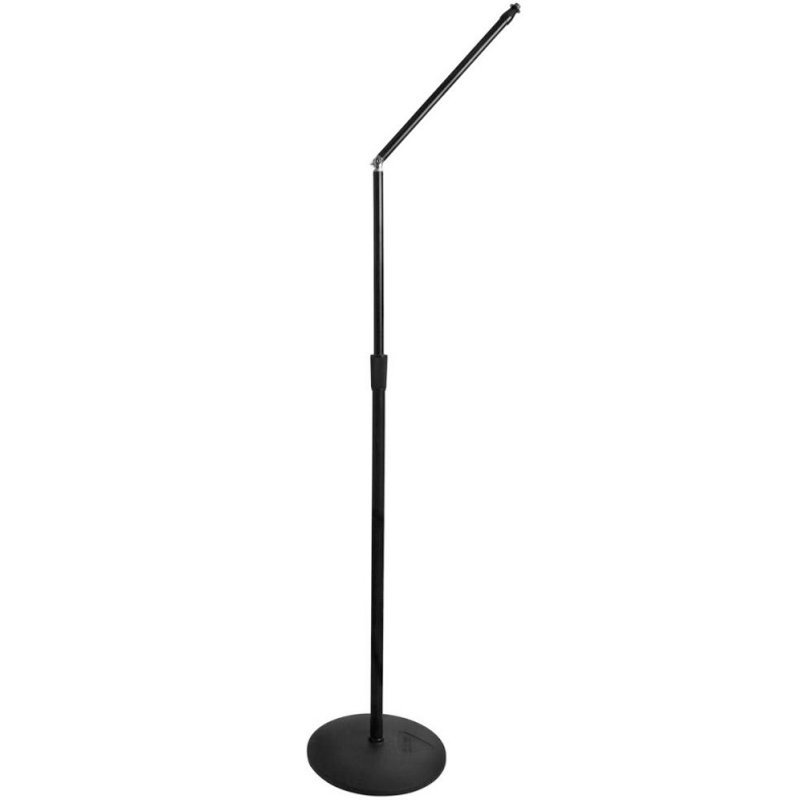View larger image of On-Stage Upper Rocker-Lug Microphone Stand with Low-Profile Base - 12
