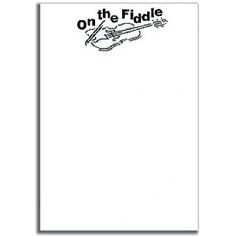 View larger image of On the Fiddle Notepad