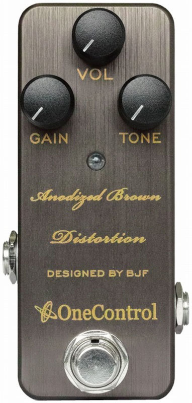 View larger image of One Control Anodized Brown Distortion Pedal