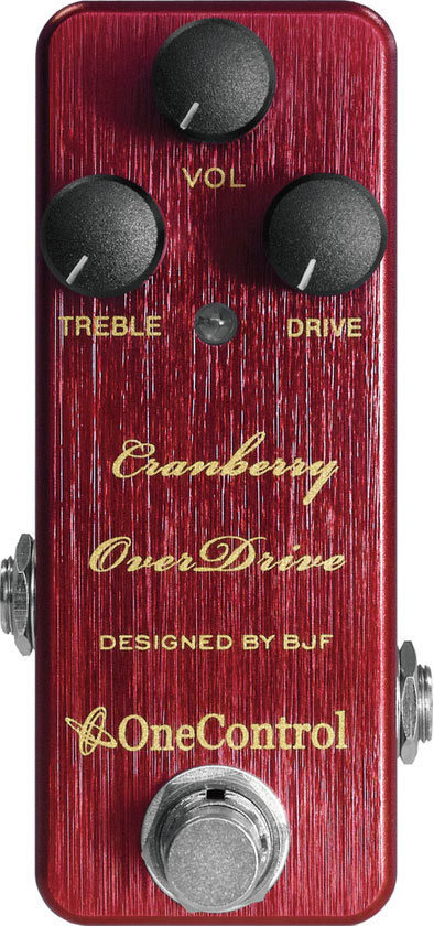 View larger image of One Control Cranberry Overdrive Pedal