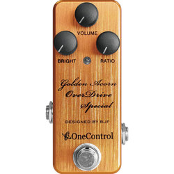 One-Control Golden Acorn Overdrive Pedal