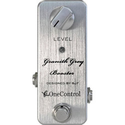 One-Control Granith Grey Booster Pedal