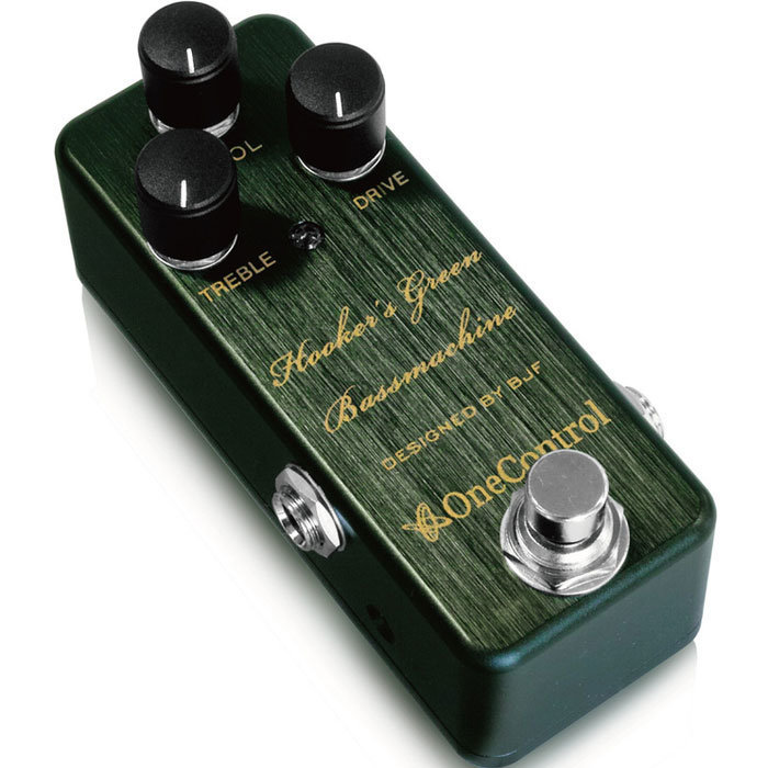 View larger image of One Control Hooker's Green Bassmachine Overdrive Pedal