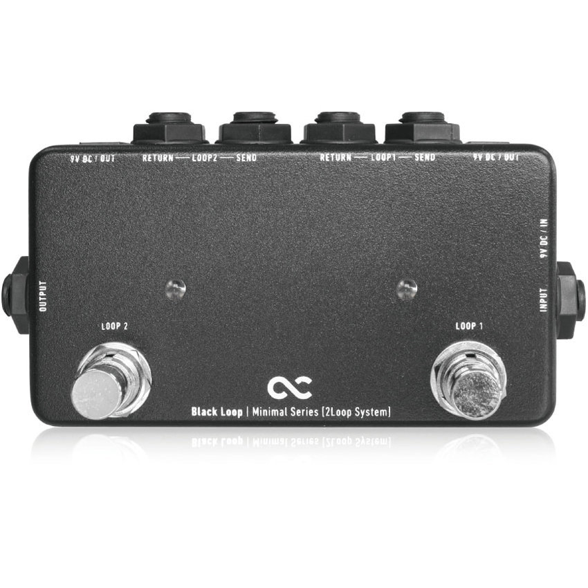 View larger image of One Control Minimal Series Black Loop Switcher Pedal