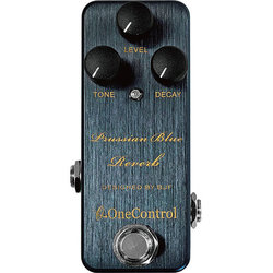 One-Control Prussisan Blue Reverb Pedal