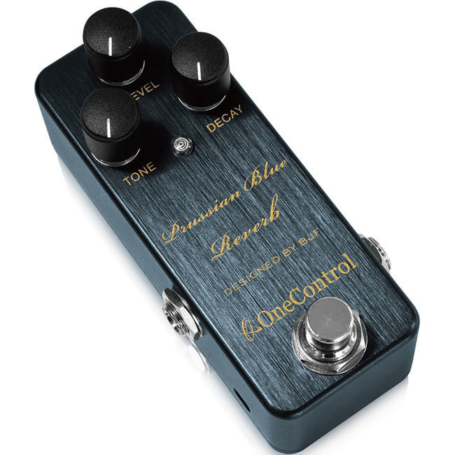View larger image of One-Control Prussisan Blue Reverb Pedal