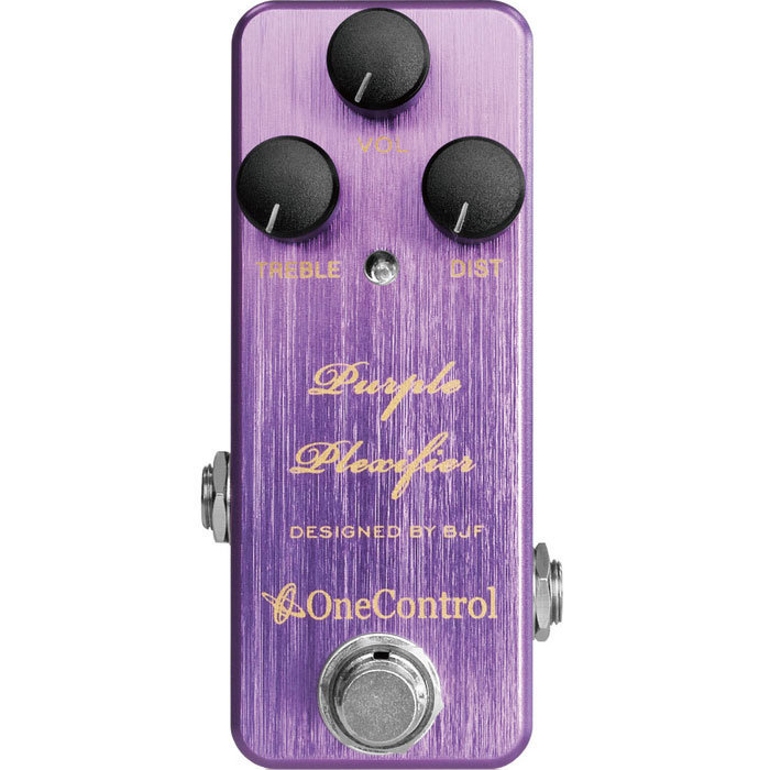 View larger image of One-Control Purple Plexifier Distortion Pedal
