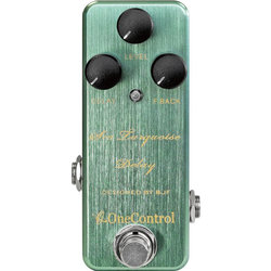 One-Control Sea Turquoise Delay Pedal