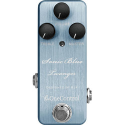 One-Control Sonic Blue Twanger Distortion Pedal