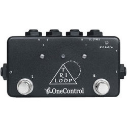 One Control Tri Loop Footswitch Pedal