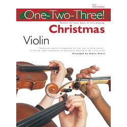 One - Two - Three Christmas - Violin