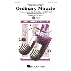 Ordinary Miracle (from Charlottes Web), 2PT Parts