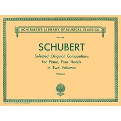 Original Compositions for 4 Hands Vol.1 (Schubert) (1P4H)