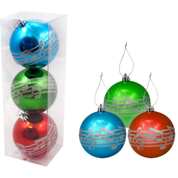 View larger image of Ornaments - Assorted, 3 Pack, 10