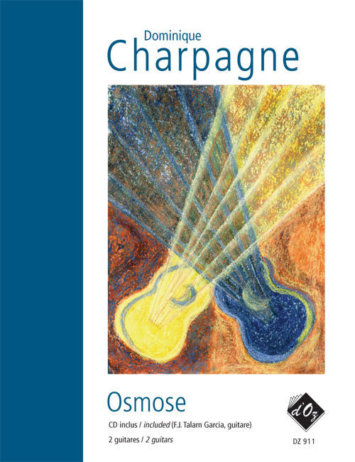 View larger image of Osmose (CD Incl) (Charpagne) - Guitar Duet