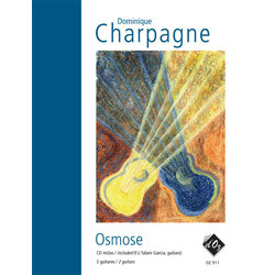 Osmose (CD Incl) (Charpagne) - Guitar Duet