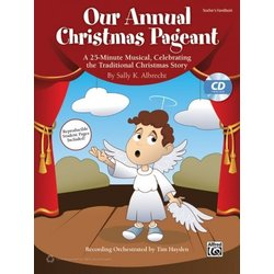 Our Annual Christmas Pageant - Teacher Book and CD